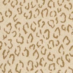Safavieh Hand-hooked Chelsea Leopard Ivory Wool Rug (2'6 x 6') - Thumbnail 2