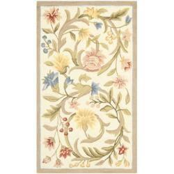 Safavieh Hand-hooked Garden Scrolls Ivory Wool Rug (3'9 x 5'9)|https://ak1.ostkcdn.com/images/products/6971359/80/316/Hand-hooked-Garden-Scrolls-Ivory-Wool-Rug-39-x-59-P14484554.jpg?impolicy=medium