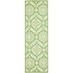 Safavieh Hand-hooked Chelsea Heritage Green Wool Rug (2'6 x 6')