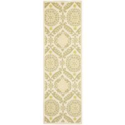 Safavieh Hand-hooked Chelsea Heritage Beige Wool Rug (2'6 x 12')