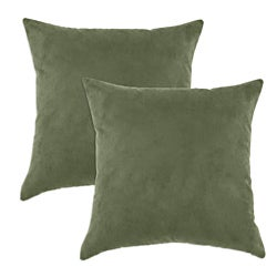 Victory Lane Forest Simply Soft S-backed 17x17 Fiber Pillows (Set of 2)