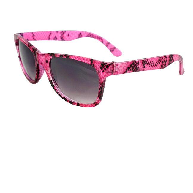 Kid's K3115-PKPB Pink Oval Sunglasses
