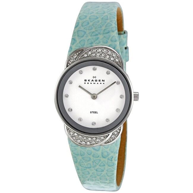 Skagen Women's Sea-blue Strap Watch