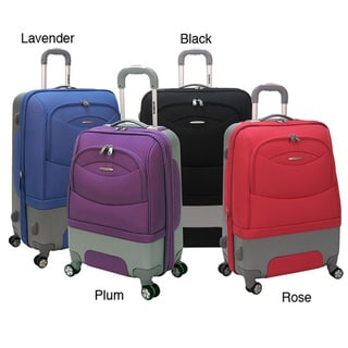 Olympia 'Pioneer' 22-inch Hybrid Carry-on 8-wheel Spinner Upright