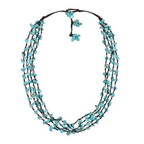 Handmade Strand Beauty Multistrand Necklace (Thailand)