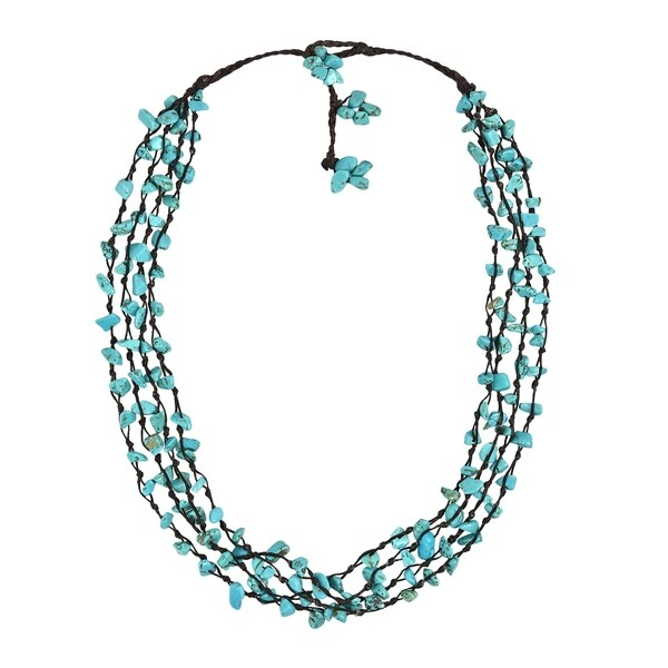 Handmade Strand Beauty Multistrand Necklace (Thailand). Opens flyout.