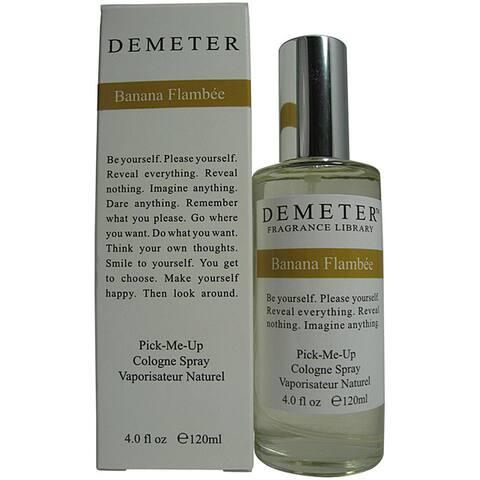 Demeter Banana Flambee Women's 4-ounce Cologne Spray