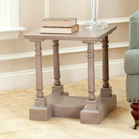 Safavieh Cape Cod Grey End Table - 0