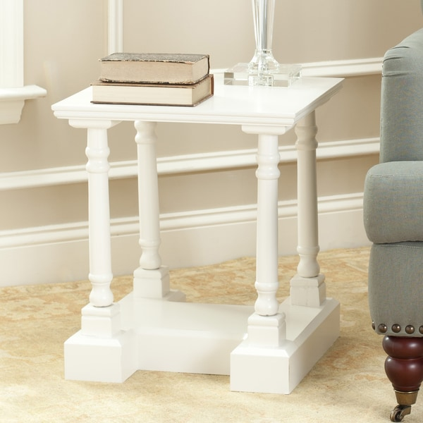 Safavieh Cape Cod Cream End Table
