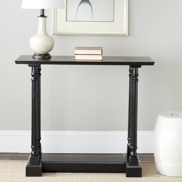 Safavieh Cape Cod Black Console Table