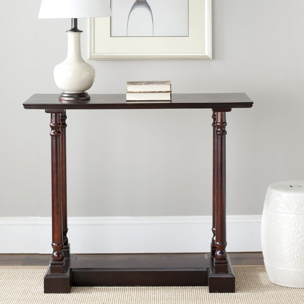 Safavieh Cape Cod Dark Cherry Console Table