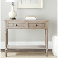 Safavieh Samantha Grey 2-drawer Console Table