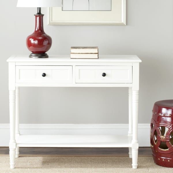 Safavieh Samantha Cream 2-drawer Console Table