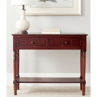 Safavieh Samantha Dark Cherry 2-drawer Console Table