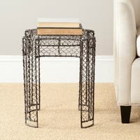Safavieh Steelworks Iron Links Brown Stool