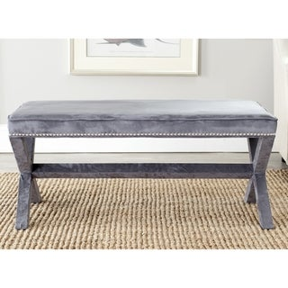 Safavieh Grey Nailhead x Bench