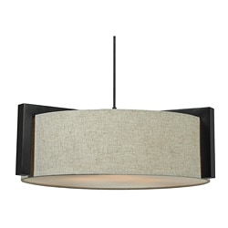 Roeser 3-light Madera Bronze Pendant