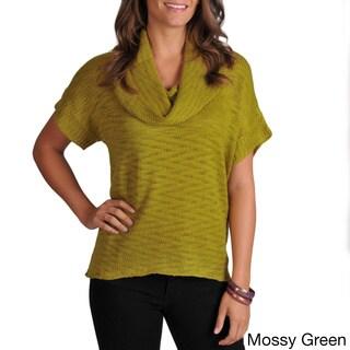 Grace Elements Women's Short Sleeve Knit Sweater