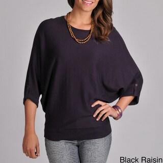 Grace Elements Women's Sweater Knit Top