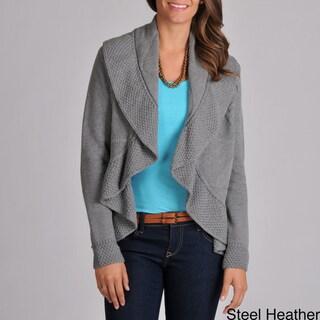 Grace Elements Women's Drape Cardigan Sweater