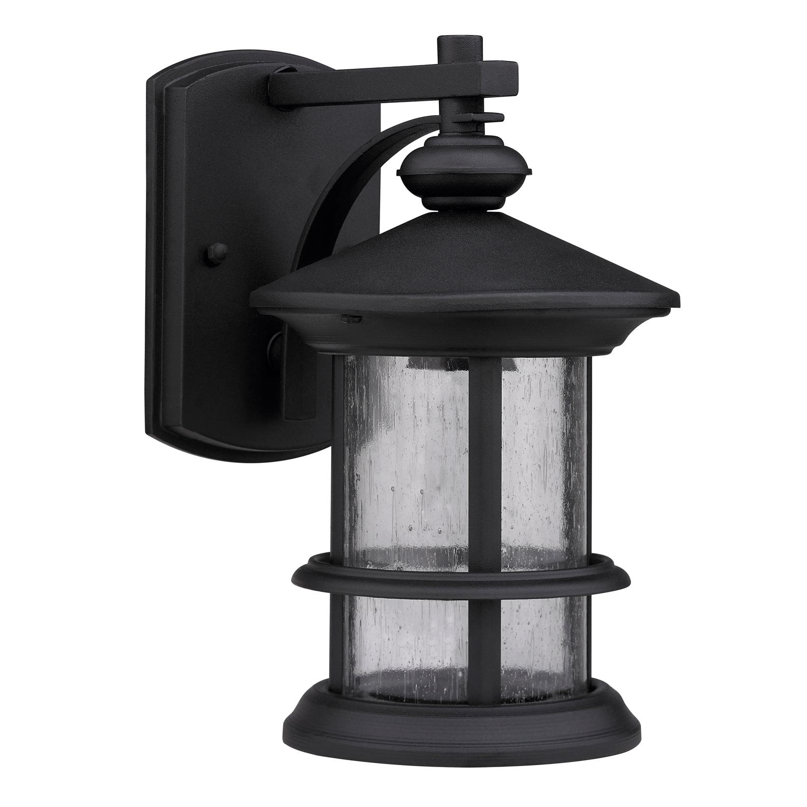 Chloe Transitional Black One-Light Weatherproof Outdoor W...