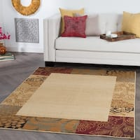 Alise Rhythm Beige Transitional Area Rug - 5' x 7'