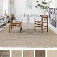 Hand-woven Cape Cod Wool/ Cotton Rug - 5 x 7'6