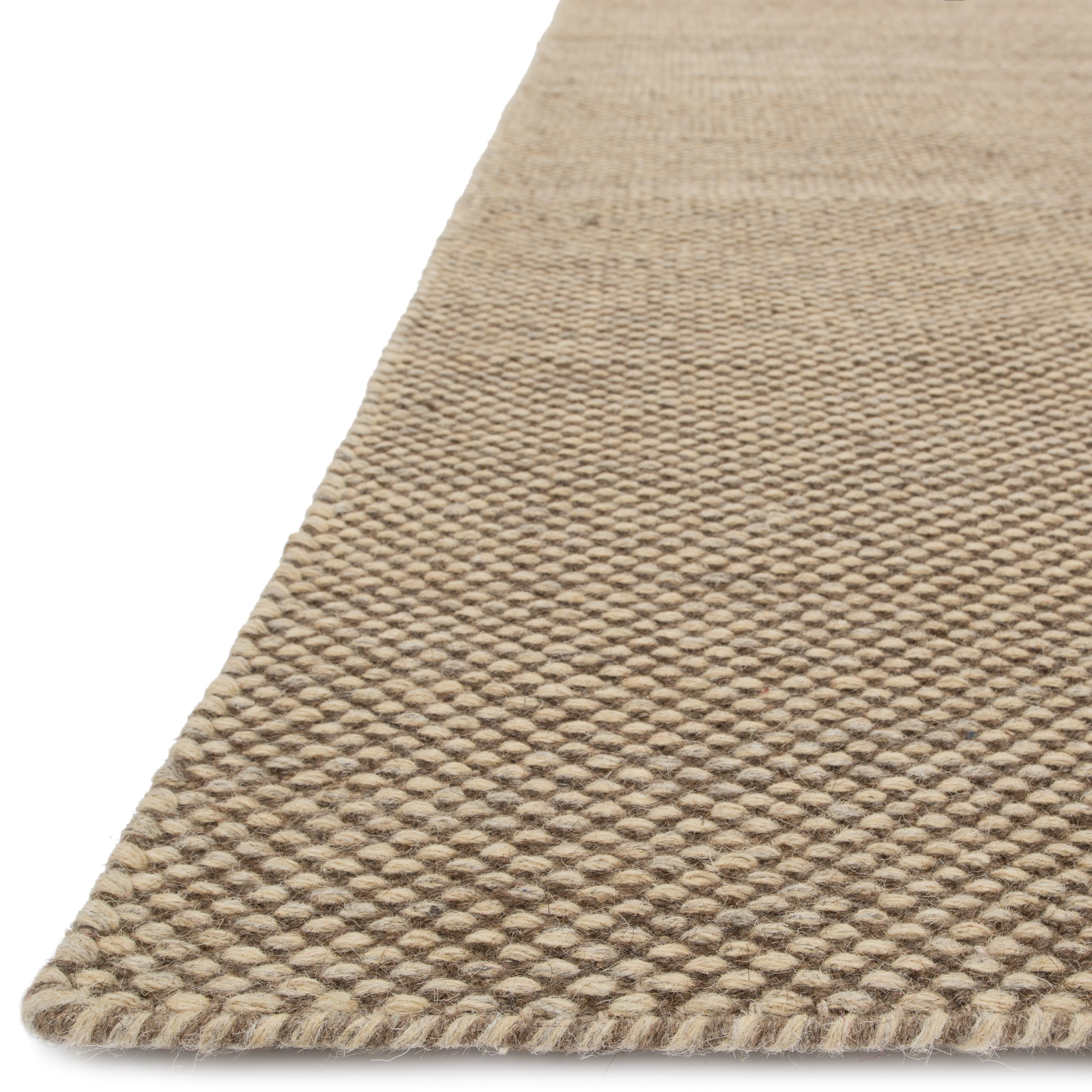 Hand Woven Cape Cod Wool Cotton Rug