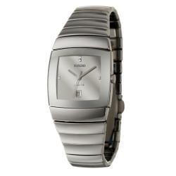 Rado Women's 'Sintra' Silver-dial Ceramic Swiss Quartz Watch