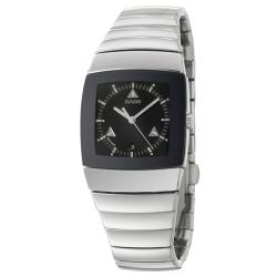 Rado Women's 'Sintra' Black-dial Ceramic Swiss Quartz Watch