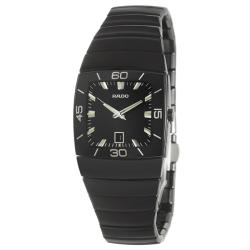 Rado Women's 'Sintra' Black Ceramic Swiss Watch