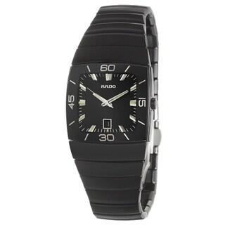 Rado Women's 'Sintra' Black Ceramic Swiss Watch
