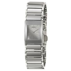 Rado Women's 'Integral' Stainless-Steel Swiss Quartz Watch