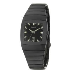 Rado Women's 'Sintra' Black Ceramic Swiss Quartz Watch