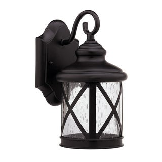 Chloe Transitional 1-light Rubbed Dark Bronze Outdoor Wall Light