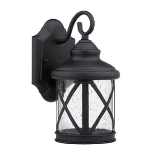 Outdoor wall lighting for less overstock chloe transitional 1 light black outdoor light mozeypictures Image collections