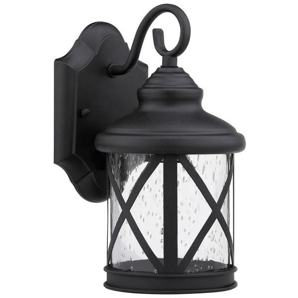 Outdoor Lighting On Sale: Shop Chloe Transitional 1-light Black Outdoor Light