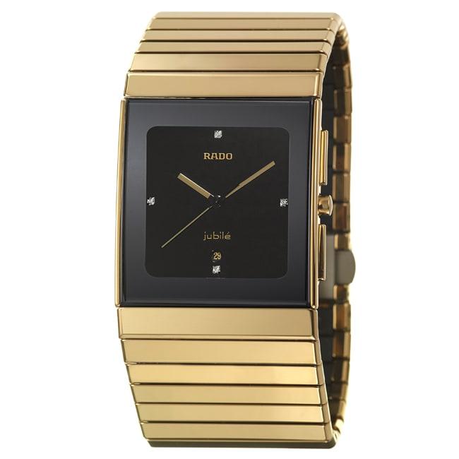 Rado Men's 'Ceramica' Scratch-resistant Ceramic Swiss Watch
