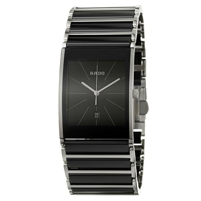 Rado Men's 'Integral' Stainless Steel Swiss Watch