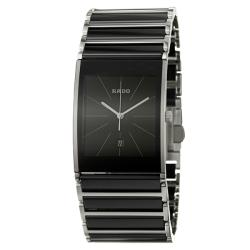 Rado Men's 'Integral' Stainless Steel Swiss Watch