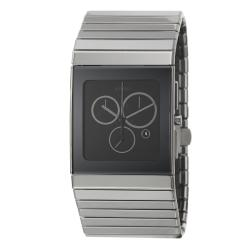 Rado Men's 'Ceramica' Black Ceramic Swiss Watch