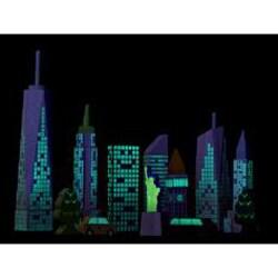 Wonderworld Toys City Skyline Glow Bocks - Thumbnail 1