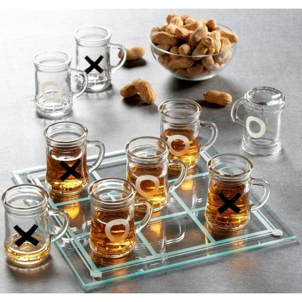 Game Night Drinking Tic Tac Toe Game