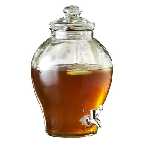 Style Setter Sanford Glass Beverage Dispenser