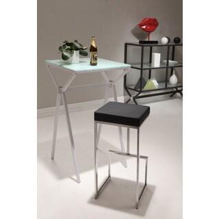 Zuo Darwen Black 30-inch High Seat Bar Chairs (Set of 2)