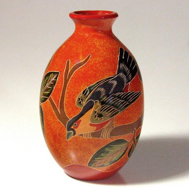 Tropical Birds Vase (Nicaragua)