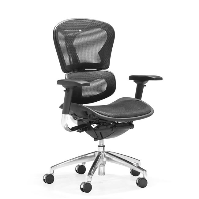 Zuo Harlow Black Adjustable Office Chair