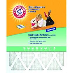 Arm & Hammer 16 x 25 x 1 Pet Fresh Pet Protection Air Filter