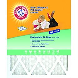 Arm & Hammer 16 x 20 x 1 Pet Fresh Pet Protection Air Filter