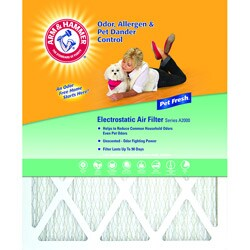 Arm & Hammer 14 x 25 x 1 Pet Fresh Pet Protection Air Filter